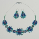 Set – necklace and earrings